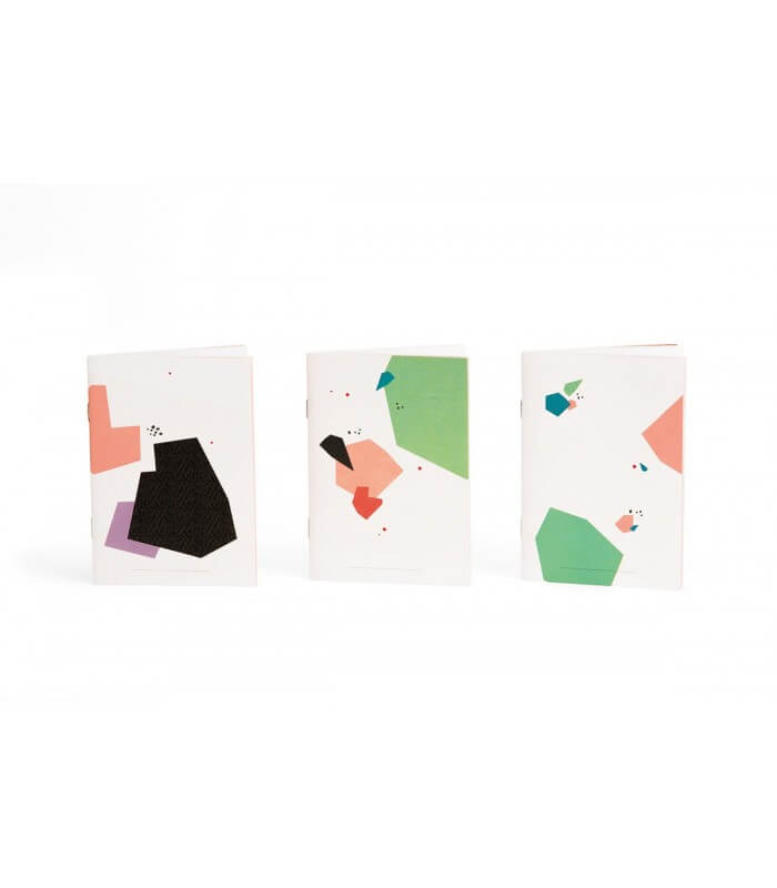 Trio carnets collection Pépite Papier Merveille