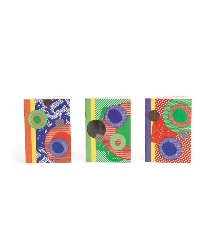 Trio carnets collection ROY Papier Merveille
