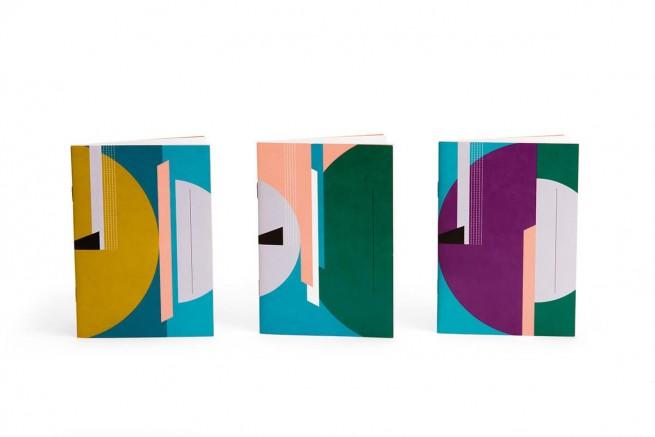 Trio carnets collection Arty Papier Merveille