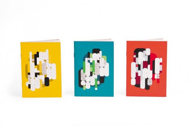 Trio carnets collection capsule Papier Merveille