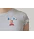 Monochromatiques - pin's visage