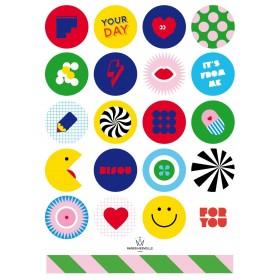 Stickers happy & funny