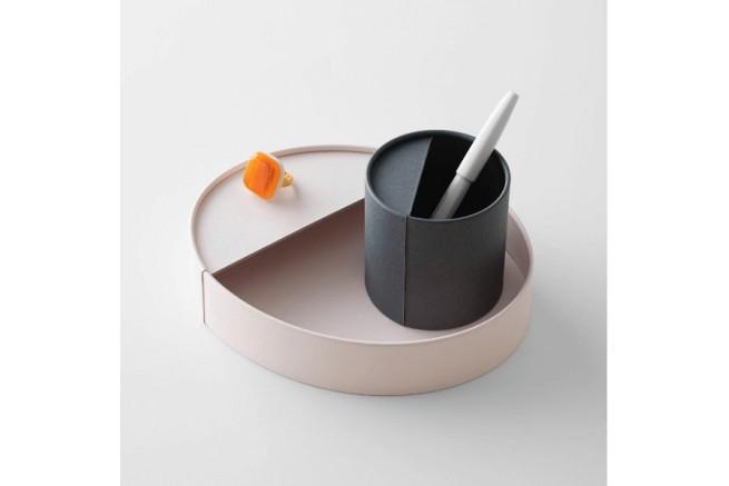 Pot à crayon anthracite