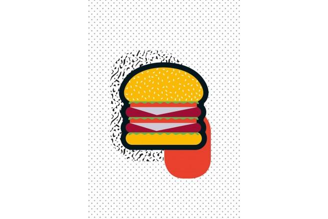 Carnet burger collection Kid Papier Merveille