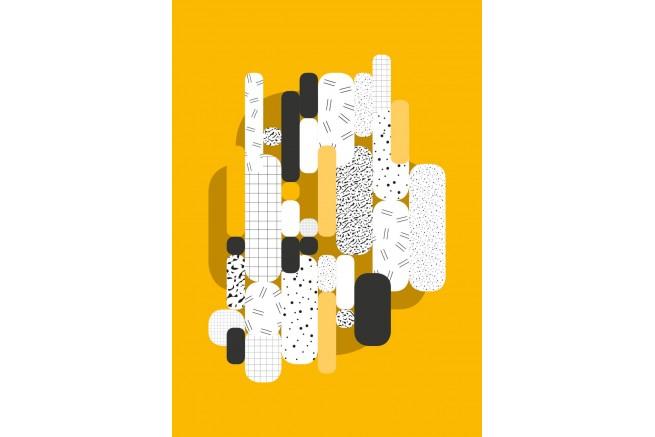 Carnet jaune collection capsule Papier Merveille