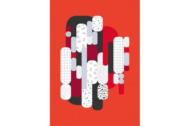 Carnet rouge collection capsule Papier Merveille