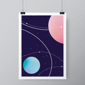 AFFICHE SPACE