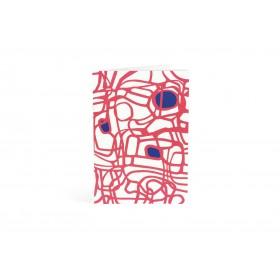 CAHIER A5 - MARONDE Piqué 2 agrafes