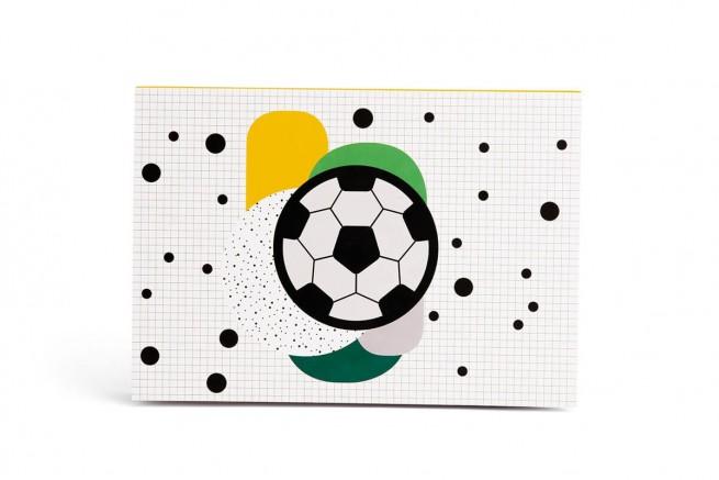 BLOC À DESSIN FOOTBALL